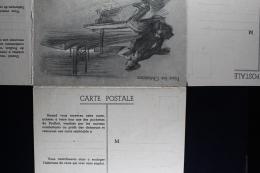 France: Carte Postal  Pour Les Chomeurs De 14/18  4 Carte Postal. - Postcards