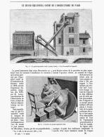 LE GRAND EQUATORIAL COUDE DE L'OBSERVATOIRE DE PARIS   1891 - Astronomie