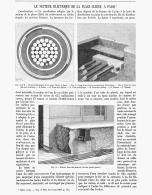 LE SECTEUR ELECTRIQUE DE LA PLACE DE CLICHY à PARIS   1891 (1) - Paris