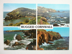 Postcard Rugged Cornwall [ Coastal Views ] Multiview By John Hinde My Ref B21173 - Other