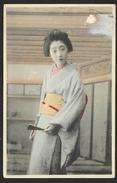 Femme En Costume 1911 Japon - Andere