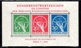 Berlin Bloc-feuillet YT N° 1 Neuf ** MNH. Signé Schlegel. TB. A Saisir!