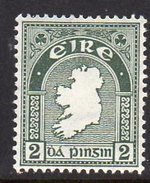 Ireland 1940-68 2d Definitive, E Wmk., MNH, SG 114 - 1922-37 Stato Libero D'Irlanda