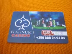 Bulgaria Bansko Perun Hotel & Casino Room Key Card - Hotelkarten