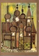 Les Cloches De L' église - Maria Jas - UNICEF - Pintura & Cuadros