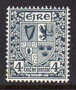 Ireland 1940-68 4d Definitive, E Wmk., MNH, SG 117 - 1922-37 Stato Libero D'Irlanda