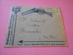 38 - Lettre, Etablissements BLANCHARD-GRANGE, St Etienne, Fusil De Chasse , 1949 - Marcophilie (Lettres)