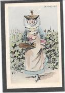 Cpa Illustration B.J.C Paris - En BOURGOGNE - Femme Costume De BOURGOGNE - Costumes