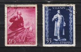 1960 -  90 Anniv. De La Naissance De LENIN  Mi 1840/1841 Et Yv No 1674/1675 - 1948-.... Republics