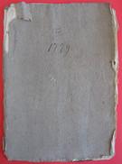 408/11  ATTO NOTARILE ROGITO COMPRA VENDITA MANTOVA 1779 SVARIATE PAGINE SCRITTURA IN LATINO VEDERE FOTO - Documents Historiques