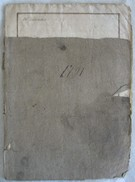 408/3   ATTO NOTARILE ROGITO COMPRAVENDITA MANTOVA 1791 SVARIATE PAGINE SCRITTURA IN LATINO VEDERE FOTO - Documenti Storici