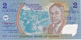 BILLETE DE SAMOA DE 2 TALA DEL AÑO 1990 (BANK NOTE) SIN CIRCULAR-UNCIRCULATED - Samoa