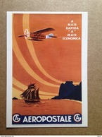 Carte Postale Prétimbrée Aéropostale - Pubblicitari
