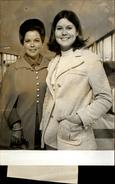 PHOTO - Photo De Presse - Acteurs - SHIRLEY TEMPLE Et Sa Fille - Actrice - - Célébrités