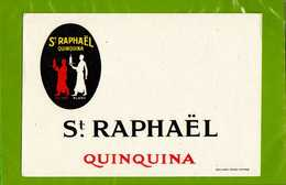 BUVARD&Blotter Paper : Saint RAPHAEL QUINQUINA - Liquor & Beer