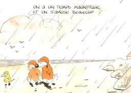 CPM On A Un Temps Magnifique Et On S'amuse Beaucoup - Humor