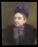 Pastel Fin XIXème Figurant Le Portrait D'un Ecclésiastique. - Pastels