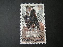 TRIESTE - AMGFTT. 1954, RESISTENZA, Usato, TB - Gebraucht