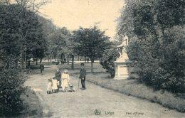 BELGIUM -  LIEGE - Parc D'Avroy - Nicely Amimated  1909 - Belgique