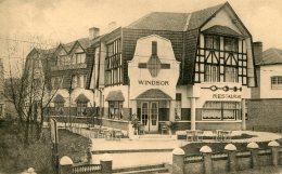 BELGIUM -  KNOCKE - Windsor Hotel Advertising Card - Knokke