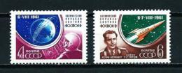 Rusia  Nº Yvert  2452/3  En Nuevo - 1923-1991 URSS