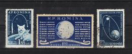 1959 - Fusees Cosmique  Mi No 1824/1826 Et Yv No P.A. 104/106 - 1948-.... Republiken