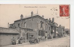 POURVILLE-SUR-MER (76). Grande-Rue. Magasins: Tabac. Voiture - France
