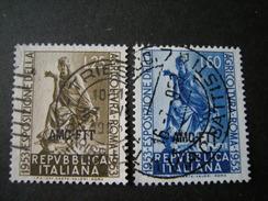 TRIESTE - AMGFTT. 1953, AGRICOLTURA, Usati, TB - 7. Triest