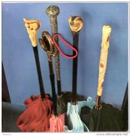POMMEAUX DE PARAPLUIE CANNES Collection Image PUBLICITE Et HISTOIRE - Ombrelles, Parapluies