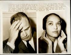 PHOTO - Photo De Presse - Acteurs - ANNA KASHFI - MARLON BRANDO - 1961 - Célébrités