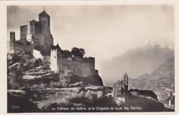 Switzerland Sion Le Chateau De Valere Et La Chapelle De Tous Les Saints Photo - VS Valais