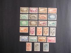 MARRUECOS: Protectorado, Frances: Año: 1933/34( Monumentos Grabados: Dentado - 13.) Lujo: 24 - Valores. - Morocco (1956-...)