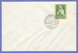 GER SC #B324 (Mi 151) 1952 Nuremberg Madonna FDC 08-09-1952 - [7] Federal Republic