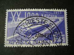 TRIESTE - AMGFTT. 1953, MILLE MIGLIA, Usato, TB - Gebraucht