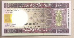 Mauritania - Banconota Non Circolata Da 100 Ouguiya P-10c - 2008 - Mauritanië