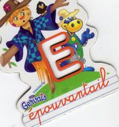Magnets Magnet Alphabet Gervais E Epouventail - Lettres & Chiffres