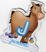 Magnets Magnet Alphabet Gervais J Jument - Letters & Digits