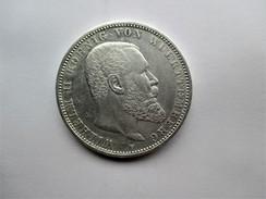 Württemberg. Wilhelm II, 5 Mark 1913 F. - [ 2] 1871-1918 : Empire Allemand