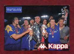 Cpm Publicitaire Football Kappa - Didier Deschamps - Juventus F.C - Fútbol