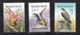 Belgie  :  Europees Jaar Van Het Milieu    Nrs 2244 - 46   ( Postfris )
