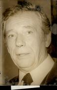 PHOTO - Photo De Presse - Acteurs - YVES MONTAND  - 1974 - Célébrités