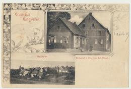 57) Gruss Aus Hangweiler ! (août 1905) - Hangviller : Wirtschaft Z. Pflug (Inh. Hoh. Pfirsch) - Autres Communes