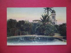 CPA LL Phot. Imp.phot.Lévy Fils Cie Paris 2- Bizerte- Le Jardin De La Place D'Europe Et La Cathédrale Le 16 /1/1917 B/TB - Tunesien