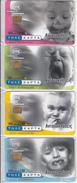GREECE - Set Of 4 Cards, Reflections, Tirage 25000, 09/01, Mint - Grèce