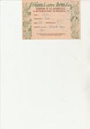 BULLETIN D´ADHESION -L´UNION DE LA JEUNESSE REPUBLICAINE DE FRANCE -1946 - Militares