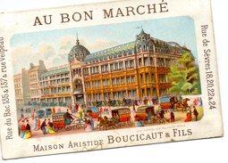 Vends   Chromos  AU BON MARCHE    Maison Boucicaut