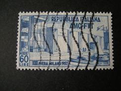 TRIESTE - AMGFTT. 1952, FIERA DI MILANO, Usato, TB - Gebraucht