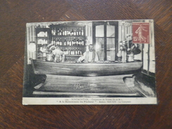 CPA 77 Seine Et Marne Portmontain Noyen A La Renommée Du Pécheur Bar Café Maison Barlon TBE - Autres Communes