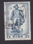Ireland, Scott #156, Used, Statue Of John Barry, Issued 1956 - 1949-... Republic Of Ireland