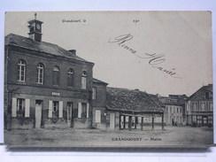 76 - GRANDCOURT - MAIRIE - Autres Communes